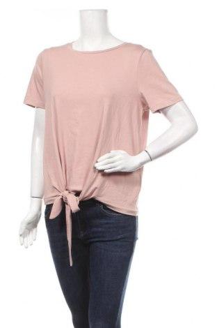 Дамска блуза Object, Размер L, Цвят Пепел от рози, 48% памук, 48% модал, 4% еластан, Цена 5,36лв.