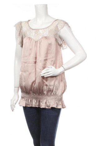Γυναικεία μπλούζα Okay, Μέγεθος L, Χρώμα  Μπέζ, Πολυεστέρας, Τιμή 8,31€