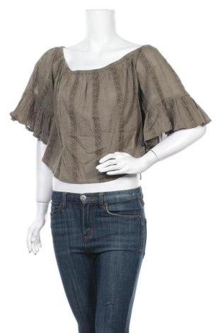 Γυναικεία μπλούζα O'neill, Μέγεθος L, Χρώμα Πράσινο, 95% βαμβάκι, 5% βισκόζη, Τιμή 17,96€