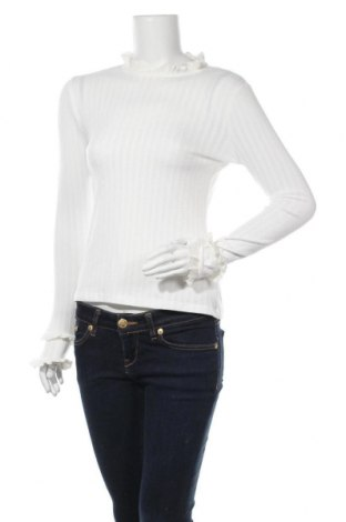 Γυναικεία μπλούζα Orsay, Μέγεθος S, Χρώμα Λευκό, 63% πολυεστέρας, 34% βισκόζη, 3% ελαστάνη, Τιμή 11,43€