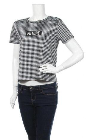 Дамска блуза Page One, Размер S, Цвят Черен, 86% полиестер, 13% вискоза, 1% еластан, Цена 11,03лв.