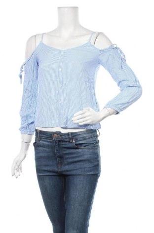 Дамска блуза Page One, Размер XS, Цвят Син, Вискоза, Цена 15,75лв.