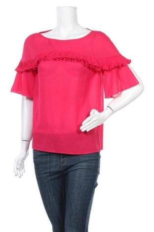 Дамска блуза Pinko, Размер S, Цвят Розов, Полиестер, Цена 66,75лв.