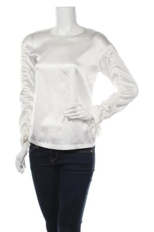 Дамска блуза Pinko, Размер XS, Цвят Екрю, 93% коприна, 7% еластан, Цена 101,47лв.