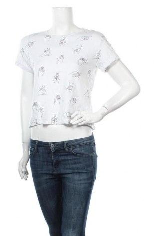 Γυναικεία μπλούζα Yfl Reserved, Μέγεθος M, Χρώμα Λευκό, Βαμβάκι, Τιμή 11,04€