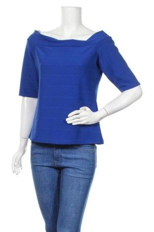 Γυναικεία μπλούζα River Island, Μέγεθος L, Χρώμα Μπλέ, 97% πολυεστέρας, 3% ελαστάνη, Τιμή 10,21€