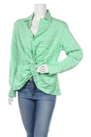 Γυναικεία μπλούζα Rodney Clark, Μέγεθος XL, Χρώμα Πράσινο, 49% βαμβάκι, 45% πολυεστέρας, 6% ελαστάνη, Τιμή 8,64€