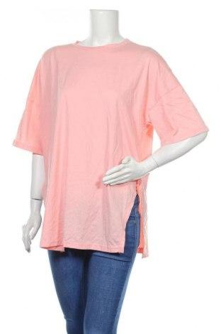 Дамска блуза SHEIN, Размер L, Цвят Розов, 95% полиестер, 5% еластан, Цена 7,65лв.