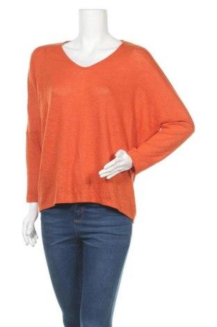 Дамска блуза Seed, Размер L, Цвят Оранжев, 68% полиестер, 29% вискоза, 3% еластан, Цена 17,85лв.