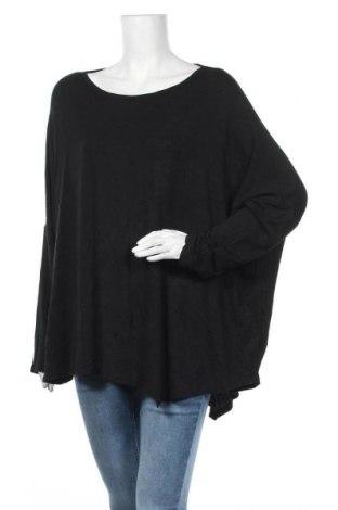 Дамска блуза Seed, Размер XL, Цвят Черен, 95% модал, 5% еластан, Цена 13,39лв.