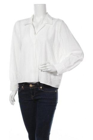 Дамска блуза Selected Femme, Размер XL, Цвят Бял, Вискоза, Цена 52,56лв.