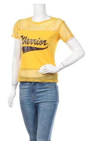 Γυναικεία μπλούζα Sisley, Μέγεθος S, Χρώμα Κίτρινο, Τιμή 11,11€