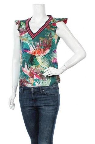 Γυναικεία μπλούζα Sisley, Μέγεθος S, Χρώμα Πολύχρωμο, Τιμή 11,69€