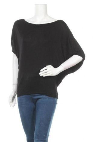 Γυναικεία μπλούζα Sisley, Μέγεθος M, Χρώμα Μαύρο, Βισκόζη, Τιμή 8,64€