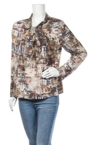 Дамска блуза Sommermann, Размер XL, Цвят Многоцветен, 93% вискоза, 7% еластан, Цена 10,97лв.