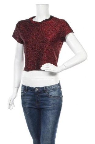 Γυναικεία μπλούζα Sparkle & Fade, Μέγεθος L, Χρώμα Κόκκινο, 71% βισκόζη, 12% πολυεστέρας, 10% μεταλλικά νήματα, 7% ελαστάνη, Τιμή 3,86€