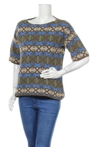 Γυναικεία μπλούζα Stefanel, Μέγεθος L, Χρώμα Πολύχρωμο, 87% βαμβάκι, 9% πολυαμίδη, 4%ακρυλικό, Τιμή 18,71€