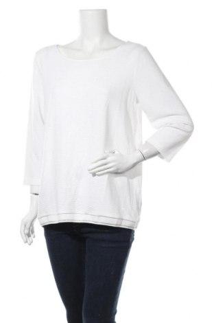 Γυναικεία μπλούζα Street One, Μέγεθος L, Χρώμα Λευκό, 60% βισκόζη, 35% πολυεστέρας, 5% ελαστάνη, Τιμή 13,64€