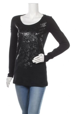 Дамска блуза Strenesse Blue, Размер S, Цвят Черен, Памук, Цена 27,36лв.