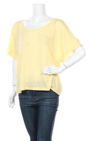 Γυναικεία μπλούζα Supre, Μέγεθος XL, Χρώμα Κίτρινο, 65% πολυεστέρας, 35% βισκόζη, Τιμή 3,41€