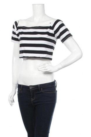 Γυναικεία μπλούζα Supre, Μέγεθος XL, Χρώμα Μαύρο, 93% βαμβάκι, 7% ελαστάνη, Τιμή 5,91€