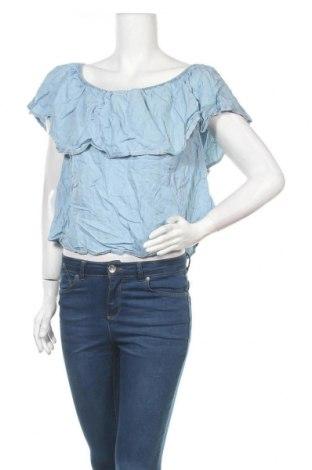 Γυναικεία μπλούζα Supre, Μέγεθος XL, Χρώμα Μπλέ, Lyocell, Τιμή 9,35€