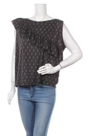 Дамска блуза Takko Fashion, Размер L, Цвят Черен, Полиестер, Цена 4,73лв.