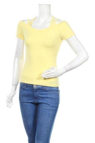 Γυναικεία μπλούζα Tally Weijl, Μέγεθος M, Χρώμα Κίτρινο, Τιμή 9,74€