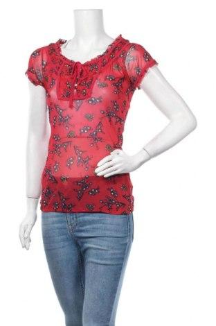 Дамска блуза Tara M, Размер S, Цвят Червен, Полиамид, Цена 6,72лв.