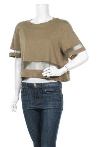 Γυναικεία μπλούζα Terranova, Μέγεθος XL, Χρώμα Πράσινο, Τιμή 9,35€