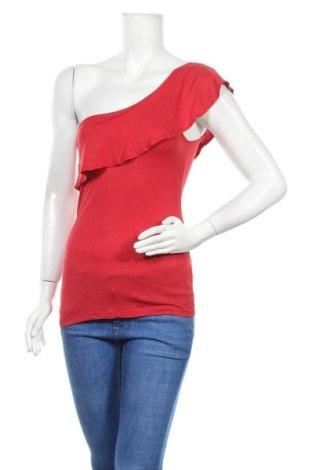 Γυναικεία μπλούζα Terranova, Μέγεθος XS, Χρώμα Κόκκινο, Βισκόζη, Τιμή 7,27€