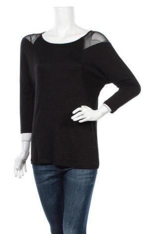 Дамска блуза The Limited, Размер M, Цвят Черен, 5% вискоза, 5% еластан, Цена 18,90лв.