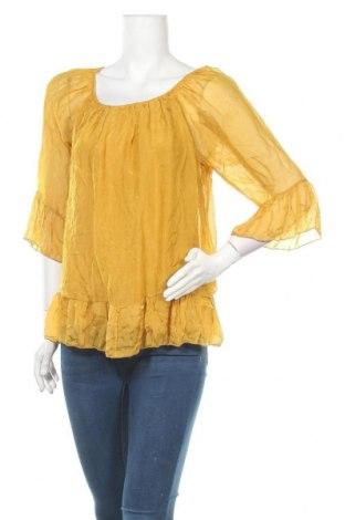 Дамска блуза Today, Размер L, Цвят Жълт, 70% вискоза, 30% коприна, Цена 47,88лв.