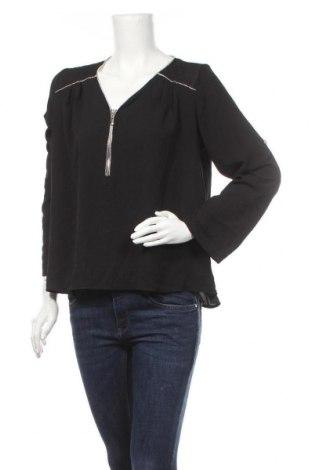 Дамска блуза Today, Размер M, Цвят Черен, Полиестер, Цена 18,90лв.