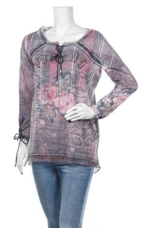 Γυναικεία μπλούζα Tredy, Μέγεθος M, Χρώμα Πολύχρωμο, Πολυαμίδη, βισκόζη, Τιμή 10,52€