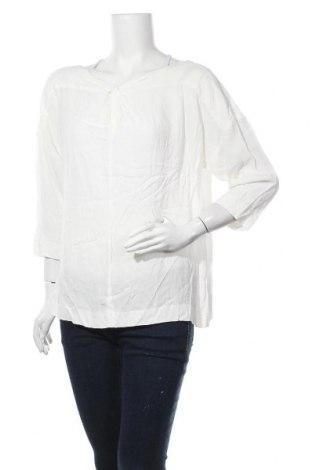 Γυναικεία μπλούζα Trenery, Μέγεθος XL, Χρώμα Λευκό, Βισκόζη, Τιμή 8,64€