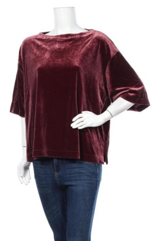 Дамска блуза Uniqlo, Размер XL, Цвят Лилав, 90% полиестер, 10% еластан, Цена 16,07лв.