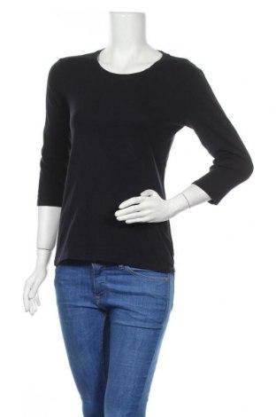 Дамска блуза Uniqlo, Размер S, Цвят Син, 96% памук, 4% еластан, Цена 17,96лв.