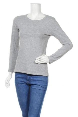 Дамска блуза Up 2 Fashion, Размер M, Цвят Сив, 85% памук, 10% вискоза, 5% еластан, Цена 17,85лв.