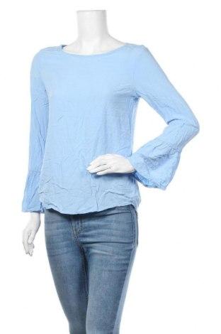 Дамска блуза Up 2 Fashion, Размер S, Цвят Син, Вискоза, Цена 19,95лв.