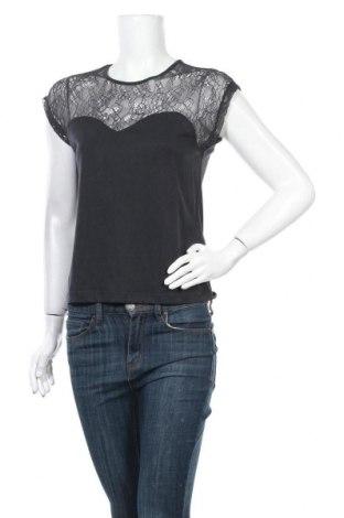 Дамска блуза Vero Moda, Размер XS, Цвят Сив, 76% модал, 24% полиестер, Цена 28,50лв.