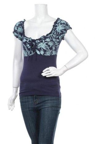 Γυναικεία μπλούζα Vert De Rage, Μέγεθος M, Χρώμα Μπλέ, 90% βισκόζη, 10% ελαστάνη, Τιμή 3,64€