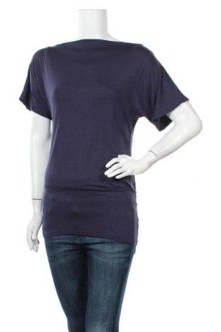 Γυναικεία μπλούζα Vert De Rage, Μέγεθος S, Χρώμα Μπλέ, 90% βισκόζη, 10% ελαστάνη, Τιμή 16,37€