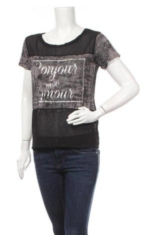 Γυναικεία μπλούζα Vert De Rage, Μέγεθος S, Χρώμα Μαύρο, 95% πολυεστέρας, 5% ελαστάνη, Τιμή 4,68€