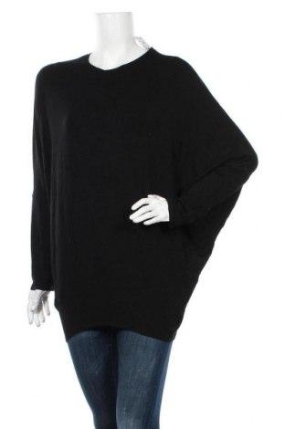 Дамска блуза Wayne Cooper, Размер M, Цвят Черен, 94% модал, 6% еластан, Цена 45,15лв.