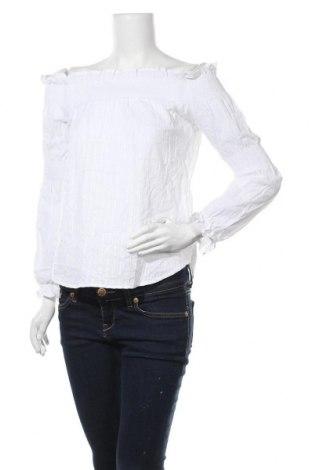 Γυναικεία μπλούζα Yfl Reserved, Μέγεθος M, Χρώμα Λευκό, Βαμβάκι, Τιμή 4,09€