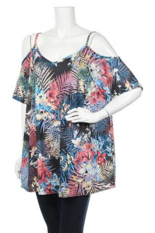 Дамска блуза Yours, Размер XXL, Цвят Многоцветен, 95% полиестер, 5% еластан, Цена 17,96лв.
