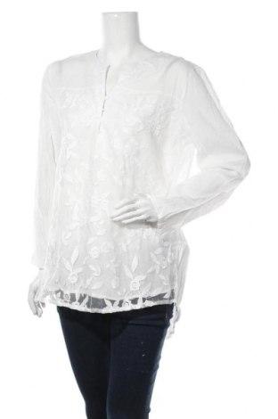Дамска блуза Zanzea, Размер XL, Цвят Бял, Памук, Цена 28,35лв.