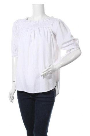 Дамска блуза Zanzea, Размер L, Цвят Бял, Цена 17,01лв.