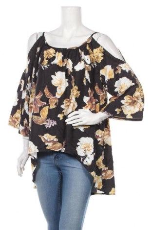 Дамска блуза Zanzea, Размер XXL, Цвят Многоцветен, Полиестер, Цена 17,85лв.